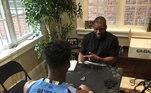 Foi com a ajuda de Michelle e os conselhos que Jimmy escolheu jogar pela universidade de Marquette, em Millwaukee, pensando também na sua educação caso a carreira no basquete não desse certo