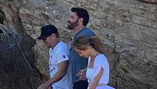 JLo e Ben Affleck são flagrados em Malibu com Matt Damon
