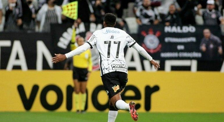 Jô se torna o artilheiro do estádio de Itaquera. Com 28 gols, desbancou Romero