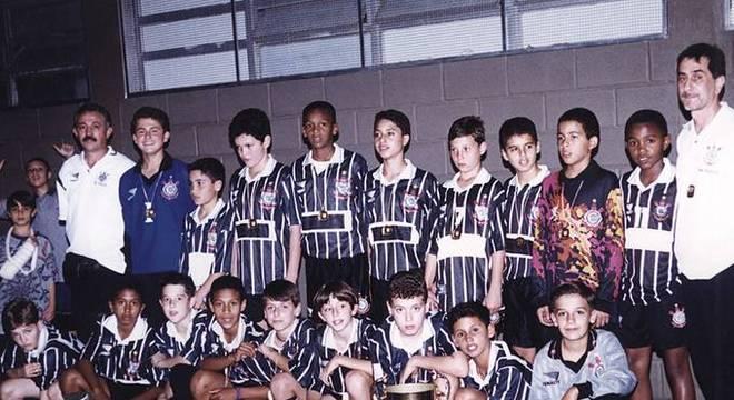 Desde as categorias de base, Jô foi destaque no Corinthians. Ligação afetiva
