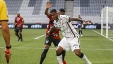 Corinthians bate Athletico e se aproxima do G4 do Brasileirão