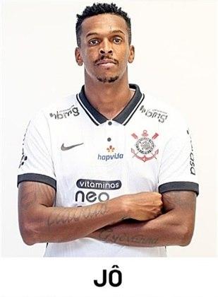Jô - está em sua terceira passagem pelo clube (2003 a 2005; 2017 e 2020 até hoje) - 235 jogos
