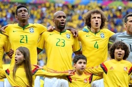 Jô estava jogou a Copa de 2014, no Brasil