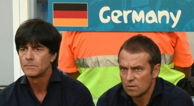Joachim Löw e Hansi Flick - Alemanha