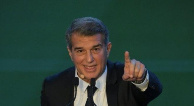 Joan Laporta, presidente do Barcelona