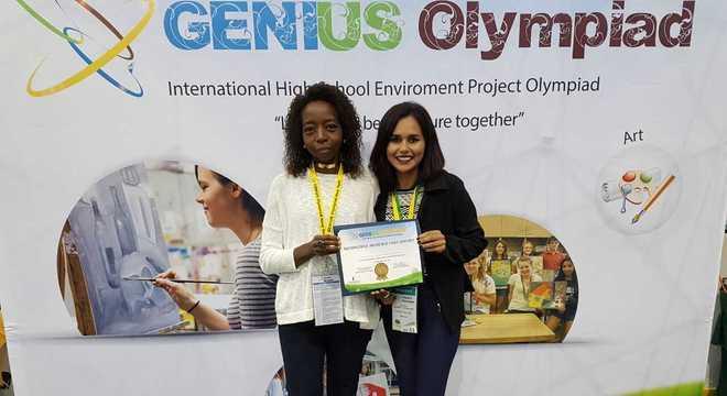 Professora e aluna participam das Olimpíadas Internacionais de química