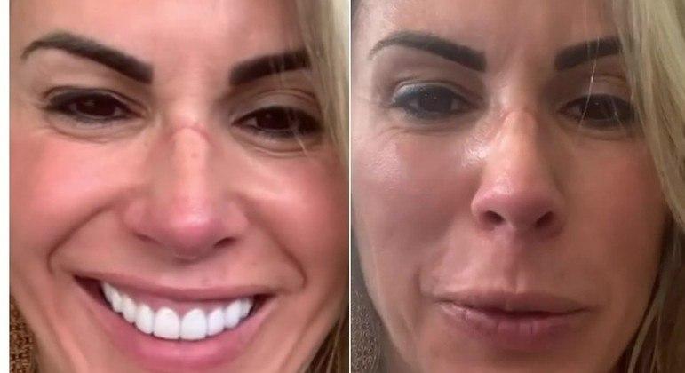 Joana Prado não tem medo de exibir sua beleza natural aos 45 anos de idade