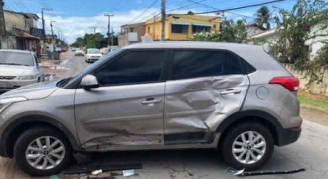 Joanna Maranhã sofre acidente de carro