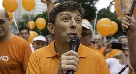 João Amôedo, presidente do Partido Novo