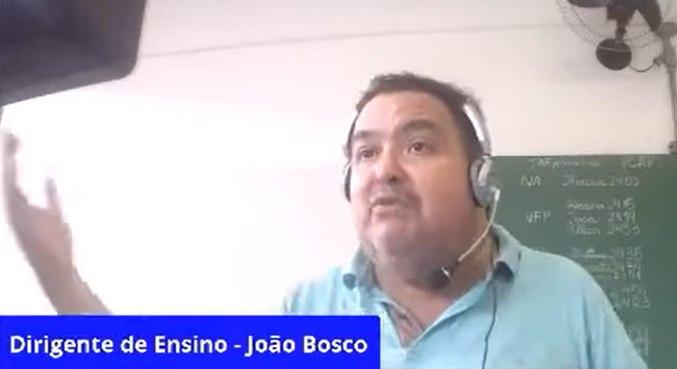 Falas de Bosco foram avaliadas como 'inadequadas' pelo Governo de SP