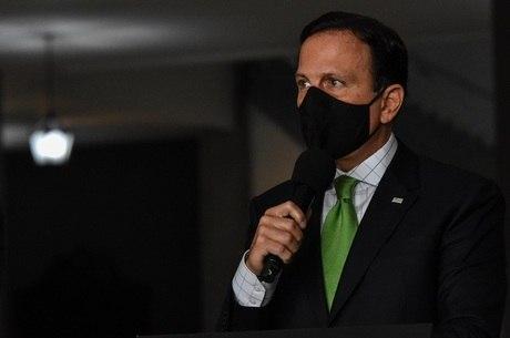 """Doria: """"SP não é mais o epicentro da pandemia"""""""