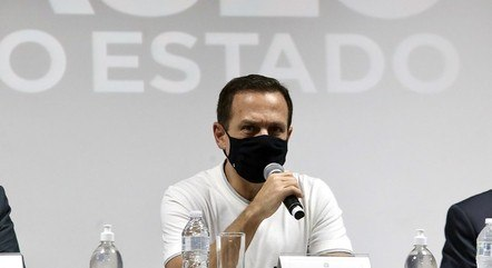 Na imagem, governador João Doria (PSDB-SP)