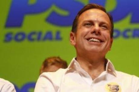 Candidato João Doria tem 22% das intenções de voto