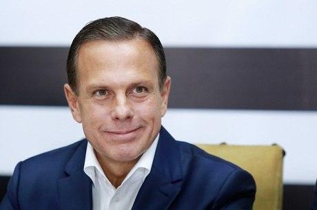O governador do Estado de São Paulo João Doria