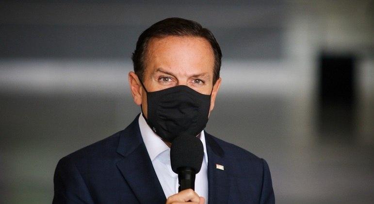 Governador de São Paulo, João Doria.