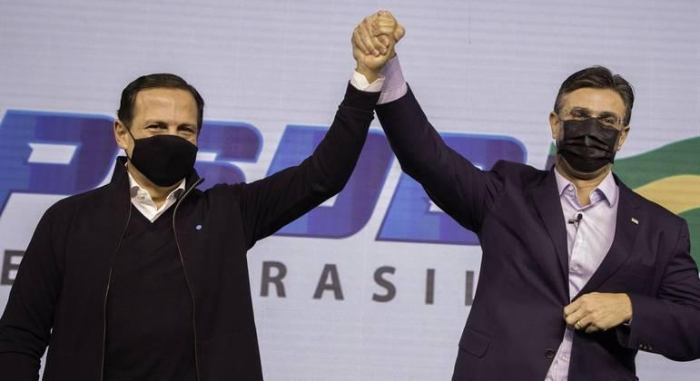 Doria negou qualquer imposição para vice se filiar ao PSDB