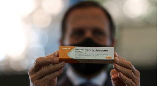 O governador Joao Doria disse que vacina será obrigatória em São Paulo