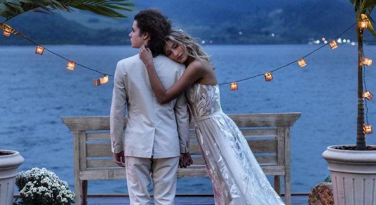 João Figueiredo e Sasha se casaram neste fim de semana