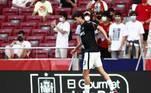 4º - João FélixO português prodígio, de só 21 anos, é o quarto colocado da lista e um reserva de luxo para a seleção portuguesa. O valor dele é de 80 milhões de euros, cerca de R$ 470 milhões