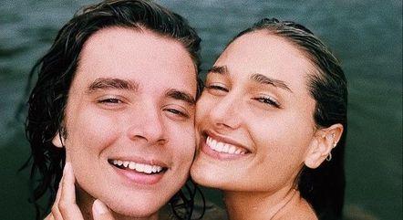 João Figueiredo e Sasha Meneghel estão em Tulum