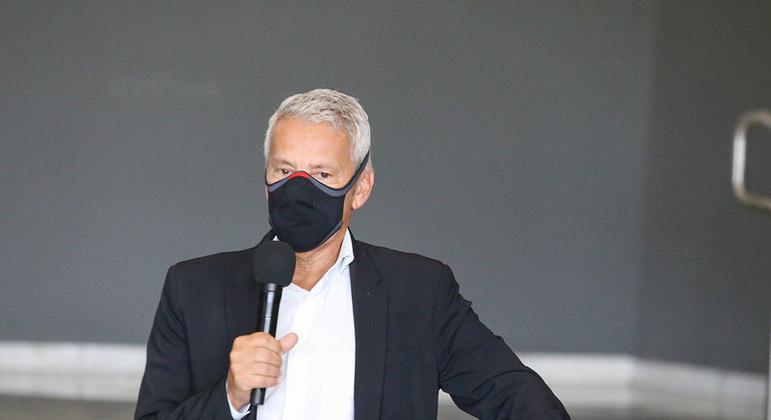João Gabbardo, coordenador-executivo do Centro de Contingência da covid-19