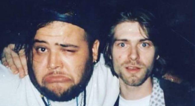 """""""Ressaca épica"""": João Gordo relembra noite com Kurt Cobain no Brasil"""