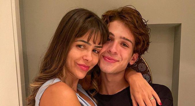 Em foto no Instagram, João Guilherme foi comparado com a mãe
