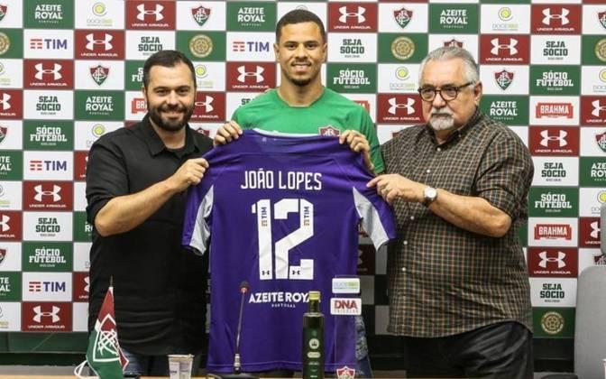 João Lopes - goleiro - 25 anos - contrato até 31/12/2021