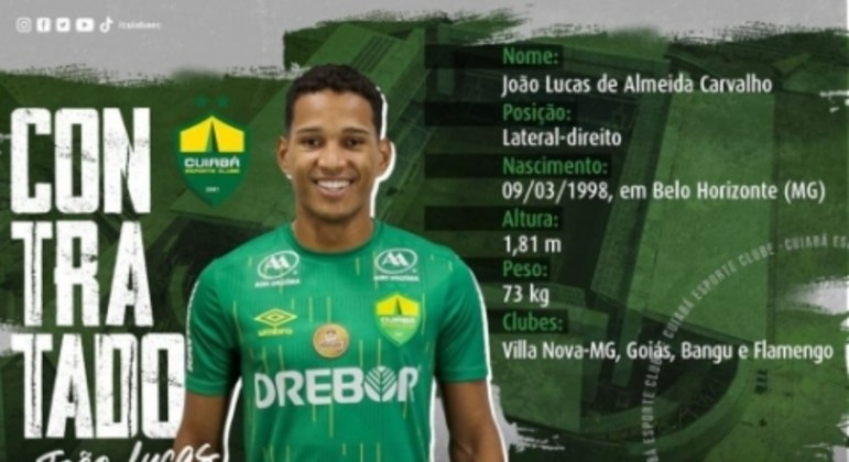 João Lucas - Cuiabá