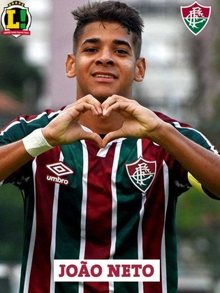 JOÃO NETO - 5,5 - Foi pouco acionado em sua estreia profissional com a camisa tricolor. Mostrou velocidade.