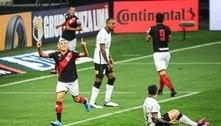 Corinthians perde do Atlético-GO e se complica na Copa do Brasil