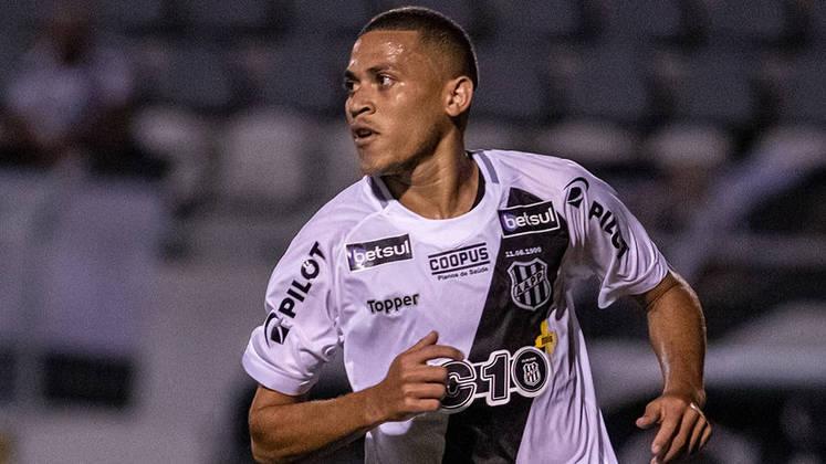JOÃO PAULO (Ponte Preta) - Eleito melhor meia do Paulistão, segue em alta na Série B. Já marcou cinco gols