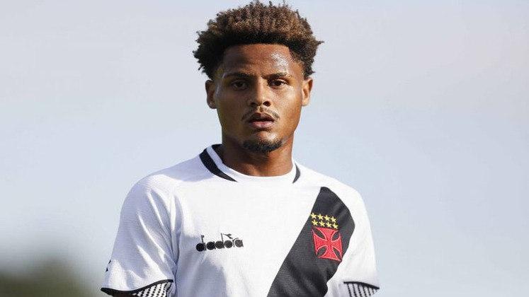 João Pedro (meio-campo) - 10 partidas pelo Vasco.