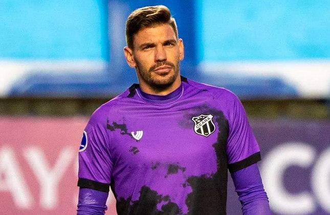 João Ricardo - Clube: Ceará - Posição: goleiro - Idade: 32 anos Jogos no Brasileirão 2021: 1 - Situação no clube: reserva com poucas oportunidades e concorrência na posição.