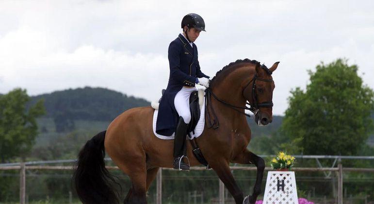 João Victor, filho de Hortência, será o primeiro atleta brasileiro a chegar na Vila Olímpica