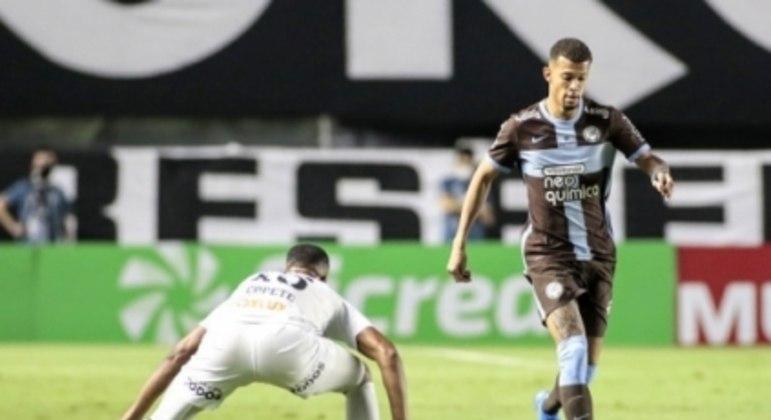 João Victor - Santos x Corinthians