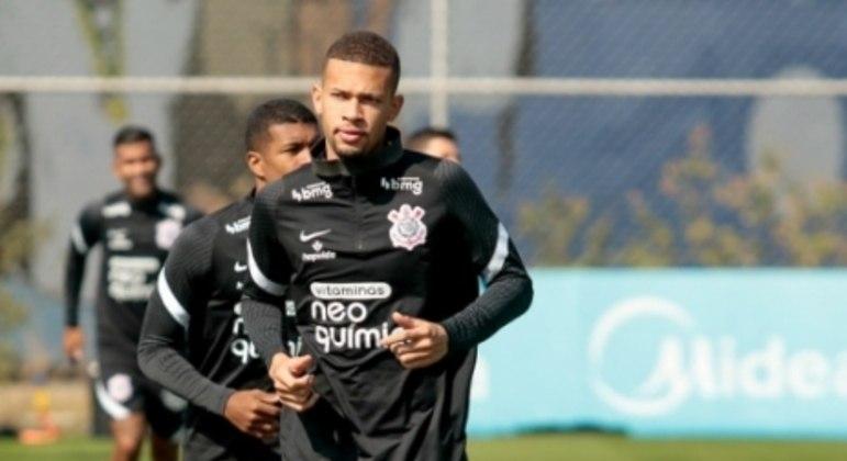 João Victor - Treino Corinthians