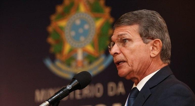 General Joaquim Silva e Luna foi empossado hoje como presidente da Petrobras