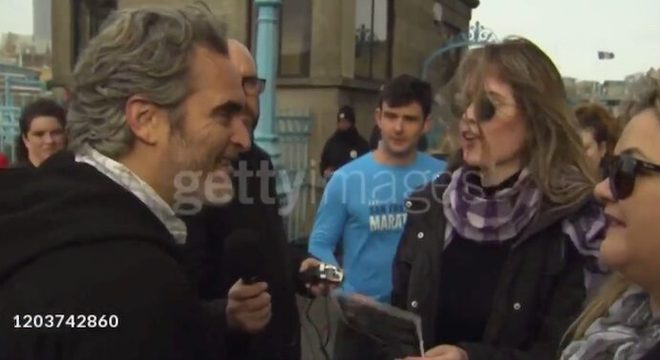 """You Are Coringa?"" Brasileira encontra Joaquin Phoenix na rua e vídeo viraliza"