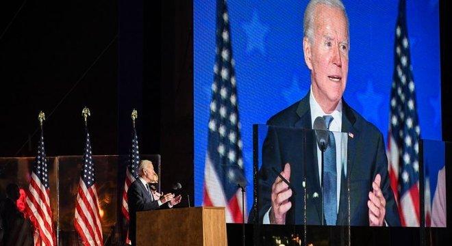 Biden pediu paciência e declarou que não se pode dar resultados até que não contem todos os votos