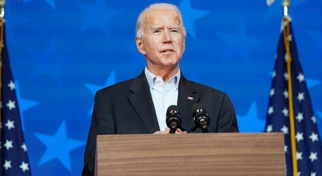 Joe Biden conquistou 284 votos no Colégio Eleitoral
