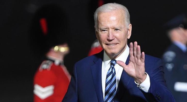 Presidente dos Estados Unidos, Joe Biden, participa esta semana da cúpula do G7