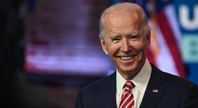 O democrata Joe Biden, apontado como vencedor das eleições norte-americanas