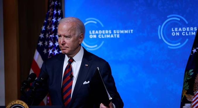 Biden anunciou medidas dos EUA para luta climática
