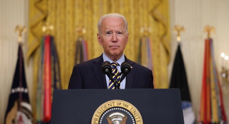 Joe Biden desistiu de manter negociações com talibã