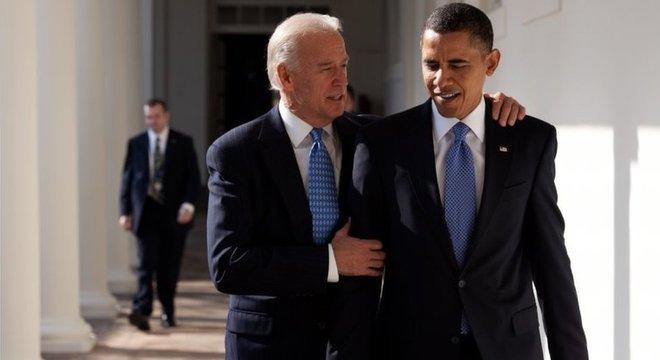 A opção de Obama por Biden surpreendeu a muitos
