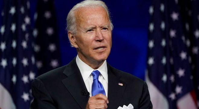 Joe Biden tem 77 anos e já foi vice-presidente na gestão de Barack Obama