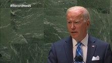 """""""Militarismo não combaterá a covid"""", diz Biden na ONU"""