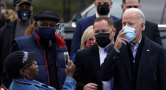 Joe Biden chega ao Delaware, onde vai aguardar o resultado da eleição