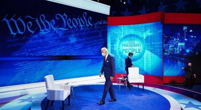 Biden participou de evento ao vivo transmitido na última quinta-feira